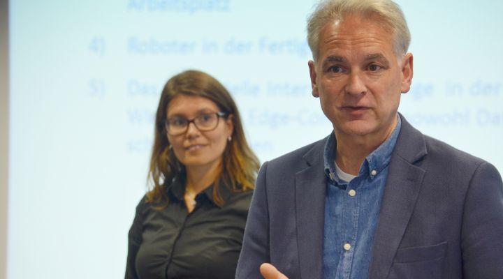 Prof. Dr. Thomas Thiessen von der Mittelstand 4.0 Agentur