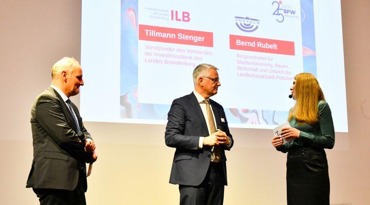 Tillmann Stenger, ILB, Bernd Rubelt, Potsdam
