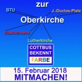 Sternmarsch Cottbus