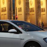 Auto, Golf, Brandenburger Tor, Mobilität, Berlin, Hauptstadt