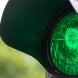 Ampel, grün, grünes Licht, Verkehr