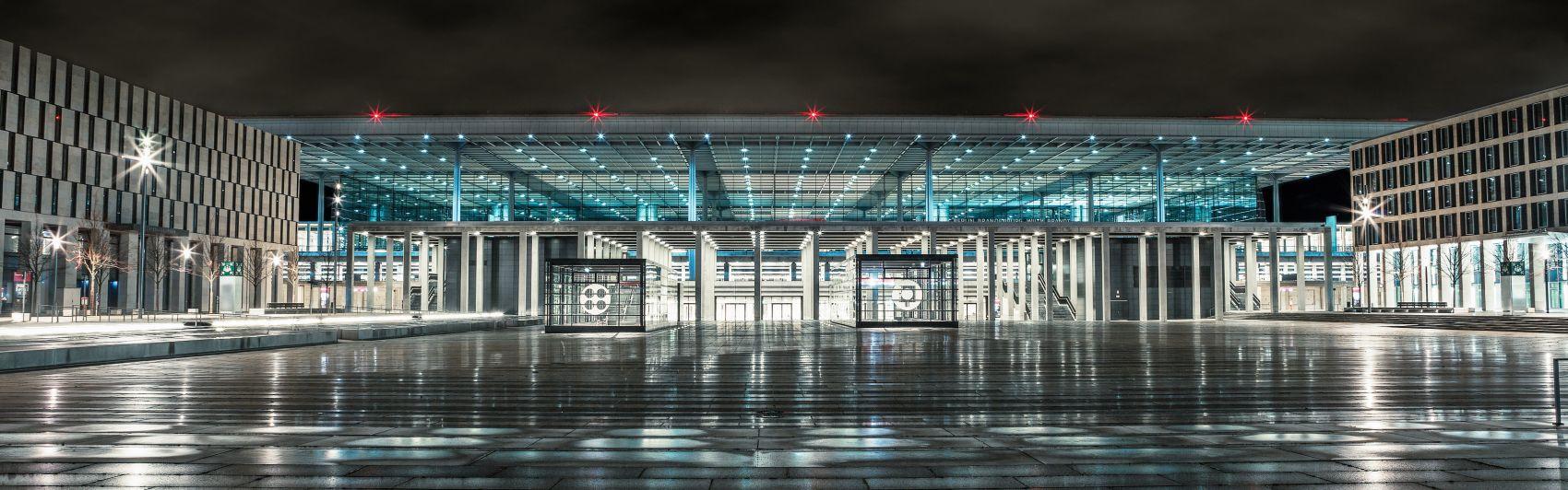 Flughafen, BER, Berlin, Brandenburg, airport