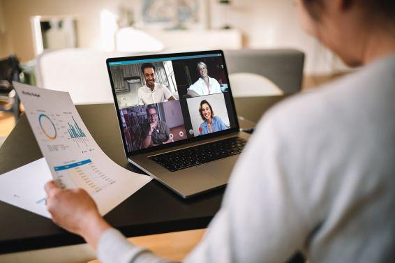 Videokonferenz, Home Office